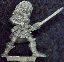 1985 elfo oscuro 1101 24 C09 V1 soltera de muerte Elfos Drow Guerrero Warhammer Citadel