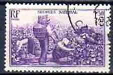 France 1940 secours national Yvert n° 468 oblitéré 1er choix