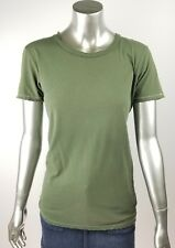 Nation LTD Olive Green Distressed T-Shirt Top size 4