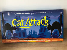 CAT ATTACK - 100& Complete Family Strategy Board Game By Carta Mundi VGC
