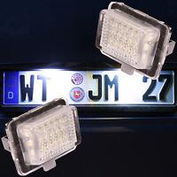 SMD LED Kennzeichenbeleuchtung Mercedes C Klasse E Klasse W204 W212 7204