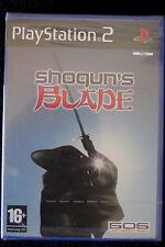 PS2 : SHOGUN'S BLADE - Nuovo, sigillato ! Rivivi storiche battaglie !