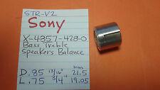 SONY X-4857-428-0 BASS TREBLE SPEAKERS BALANCE KNOB STR-V4 STR-V3 STR-V2 STR-V1