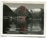 BALHOLM, Norwegen, Hotel, orig. Agfa Lupex, Kreuzer Emden, Auslandsreise 1938
