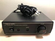 Realistic 32-1221A Microphone System, Powers On, Unit Only