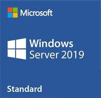Windows Server Standard 2019 Key 32 64 bit Genuine License Product Code