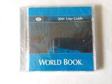 World Book Encyclopedia Standard Edition 2001 User Guide Cd-Rom