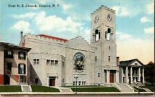 1910. GENEVA, NY. FIRST M.E. CHURCH. POSTCARD CK21