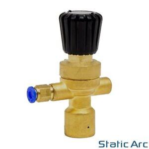 MINI GAS BOTTLE REGULATOR FOR DISPOSABLE CO2 ARGON MIG TIG WELDING PORTABLE 4mm