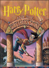 Harry Potter Photo Quality Magnet: The Sorcerers Stone Cover Reproduction