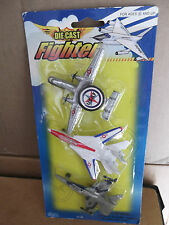 3 Die Cast Fighter Planes Nip