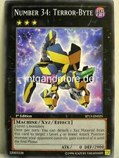 Yu-Gi-Oh - 1x Number 34: Terror-Byte - SP13 - Star Pack 2013