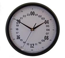 "10"" 24 Hour, Zulu, Universal, Greenwich, Military, Navy, GMT Time Clock #273B"