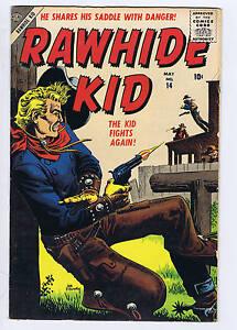 Rawhide Kid #14 Atlas Pub 1957