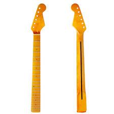 Gitarren Hals Gitarrenhals für E Gitarre Teile Ersatz Ahorn 22 Bünde 1 Stück