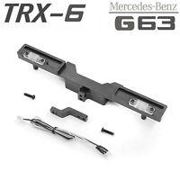 Für TRAXXAS TRX-6 Benz G63 6X6 RC Auto Shell Rear Bumper mit Tow Hook LED Lampe