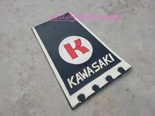Kawasaki GA2 G2 G3 G3SS G7 KH100 Embossed Mud Flap Splash Guard Extension Fender