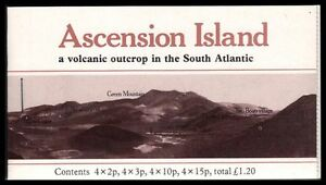 """ASCENSION 282bi - Local Flowers """"Complete Booklet of Four Panes"""" (pa69471)"""