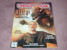 Cinefantastique vol.22 no.6, Alien 3, Army of Darkness, Free Shipping in Usa