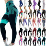 Women High Waist Yoga Pants Leggings Sports Gym Stretchy Training Tight Trousers