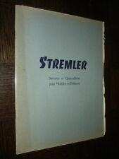 CATALOGUE STREMLER - Serrures et Quincaillerie pour Meubles et Bâtiment