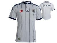 adidas Fenerbahce Istanbul Away Fußball Trikot weiß Türkei Fan Fussball S - XL