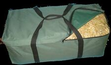Hay Bale Bag Great for Horse Floats Camping Gear Bag  HB2 Green