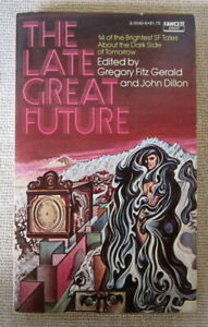 The Late Great Future PB 1st Fawcett - Flowers for Algernon by Daniel Keyes