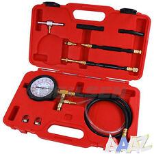 Comprobador de presión de inyección de combustible Kit de herramientas de coche Ford Opel GM Test Puerto Schroder