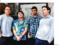 BOMBAY BICYCLE CLUB GROUP SIGNED 8X10