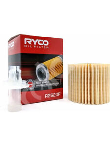 Ryco Oil Filter FOR TOYOTA COROLLA ZRE18_ (R2620P)