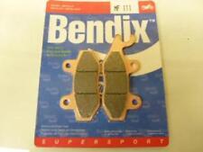 Pastiglia freno Bendix moto Triumph 900 Trophy 1993 - 1995 MF111 Nuovo coppia p
