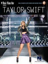 Taylor Swift Sing 8 Favorites Music Minus One Vocals NEW 000223015
