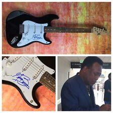 GFA Legend Jazz Guitarist * GEORGE BENSON * Signed Electric Guitar PROOF G1 COA