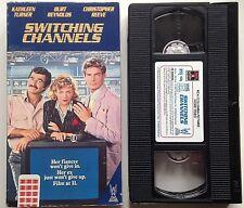 "VHS "" SWITCHING CHANNELS ""  BURT REYNOLDS,CHRISTOPHER REEVE,KATHLEEN TURNER"
