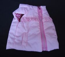 """Doll Clothes Reversible """"Vest"""" Solid Pink one side & Pink Leopard Print 18"""" Doll"""
