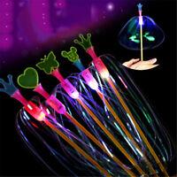 Rainbow Magic Stick Wand LED Bubble Flower Colorful Shining Light Wand StickToyN