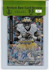 2015 CONTENDERS DRAFT DEVIN FUNCHESS CRACKED ICE SEASON TICKET RC AUTO BGS 9.5