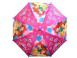 Disney Princess All Over Print Large Retractable Umbrella