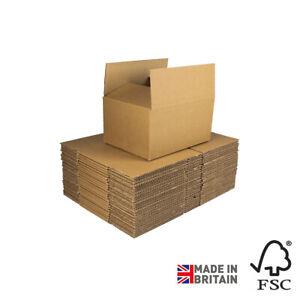 100 Royal Mail Small Parcel Size Boxes Bulk Discount Price Various Sizes, Kraft