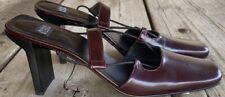 Anne Klein Shoes Heels Slingback 6 1/2 M Retail $175