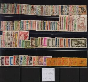 ! Indochina 1892-1949. Lot Of 132 Stamp. YT#. €+100.00!