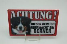 BOUVIER BERNOIS Signe d'avertissement des animaux PRUDENCE Panneau 20x12 cm 5