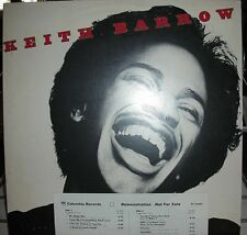 "KEITH BARROW ""S/T"" 12"" Vinyl Stereo LP 33RPM 1977 Columbia PC-34465 PROMO VG+"