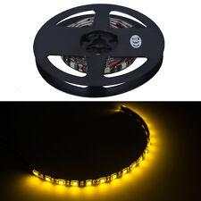 4 X 30cm 18 LED 5050 SMD Strip Lights Waterproof Flexible Strip Light Orange 12V