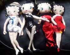 """Betty Boop Dolls 4 """"""""French Maid"""",""""Playboy Bunny"""", """"Evening Gown"""" & """"Red Dress"""""""