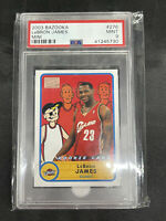 2003 Topps Bazooka LeBron James MINI ROOKIE RC #276 PSA 9 MINT