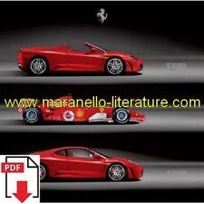 Brochure 2005 Ferrari F430 + F430 Spider 23/13/2005 PDF (it/uk)