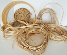 Basket Weaving Caning Supplies Coils Braided Strips Handles Seagrass Reed Lot