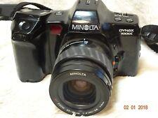 Minolta Dynax 7000i AF Film SLR + 35-80mm Lens Sony A Mount - Tested - Working